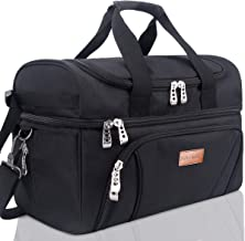 BALORAY Lunch Bag for Women Men Large Insulated Leak-proof Water-Resistant Thermal Bento Bag for Office School Picnic Beac...