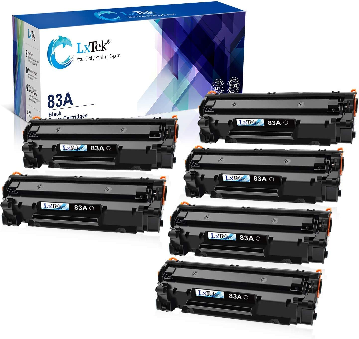 LxTek Compatible Toner Cartridge Replacement 2 HP Spasm price 83A Don't miss the campaign CF283A for