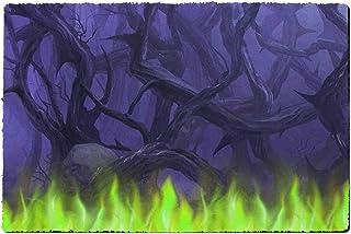 Rainbow Rules Indoor Neoprene Doormat - Forest of Thorns Maleficent Disney Villains Inspired