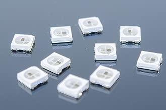 ACROBOTIC 10-Pack WS2812B SK6812 White SMD RGB LEDs for Arduino Raspberry Pi ESP8266 WS2812 WS2811