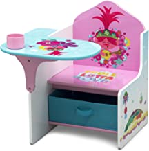 Delta Children Chair Desk with Storage Bin, Trolls World Tour