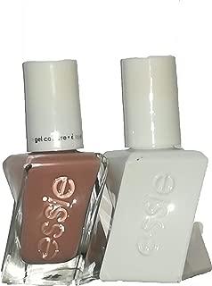 Essie Nail Polish Gel 60 Pinned Up + 00 Top Coat 2pcs Set