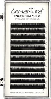 Loventure® Individual Lengths SILK Lashes - C Krul | Professionele Wimperextensions | Eyelash Extensions | Classic Extensi...