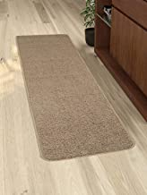 Saral Home Anti Slip Polyester Kitchen Runner- 40x120 cm, Brown