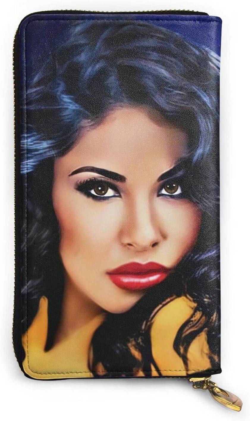 Selena Quintanilla Premium Leather Zipper Printed High order Store Coin P Wallet