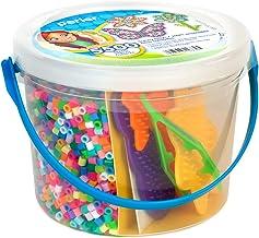 Perler Sunny Days Bright Color Fuse Bead Bucket, 5504 pcs