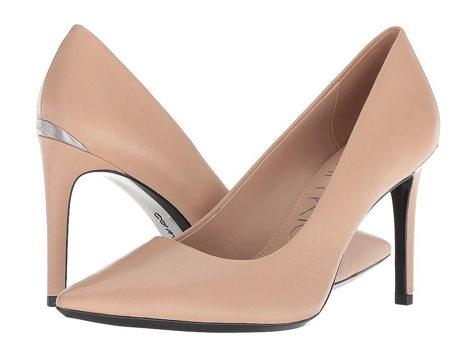 Calvin Klein Ronna (Desert Sand Nappa) High Heels