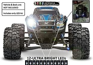 JPV2015 Genuine Product - Traxxas X-MAXX / E-REVO LED Light Kit - 16 LEDs - Premium Quality - Handmade in USA Exclusively