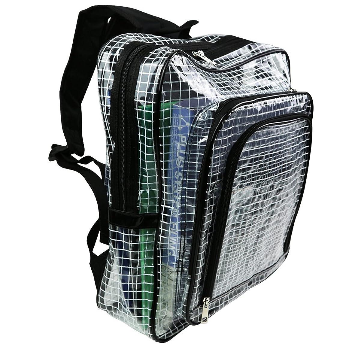 フェードアウト選ぶ容疑者SIEG エンジニアバッグ クリーンバッグ クリーンルーム用透明バック リュックタイプ
