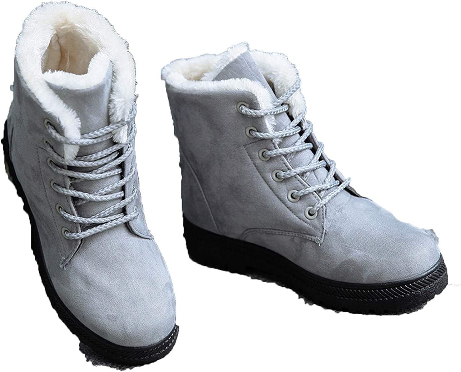 Smile-bi Women Boots 2018 New Women Winter Boots Warm Snow Boots Fashion Ankle Boots for Women shoes