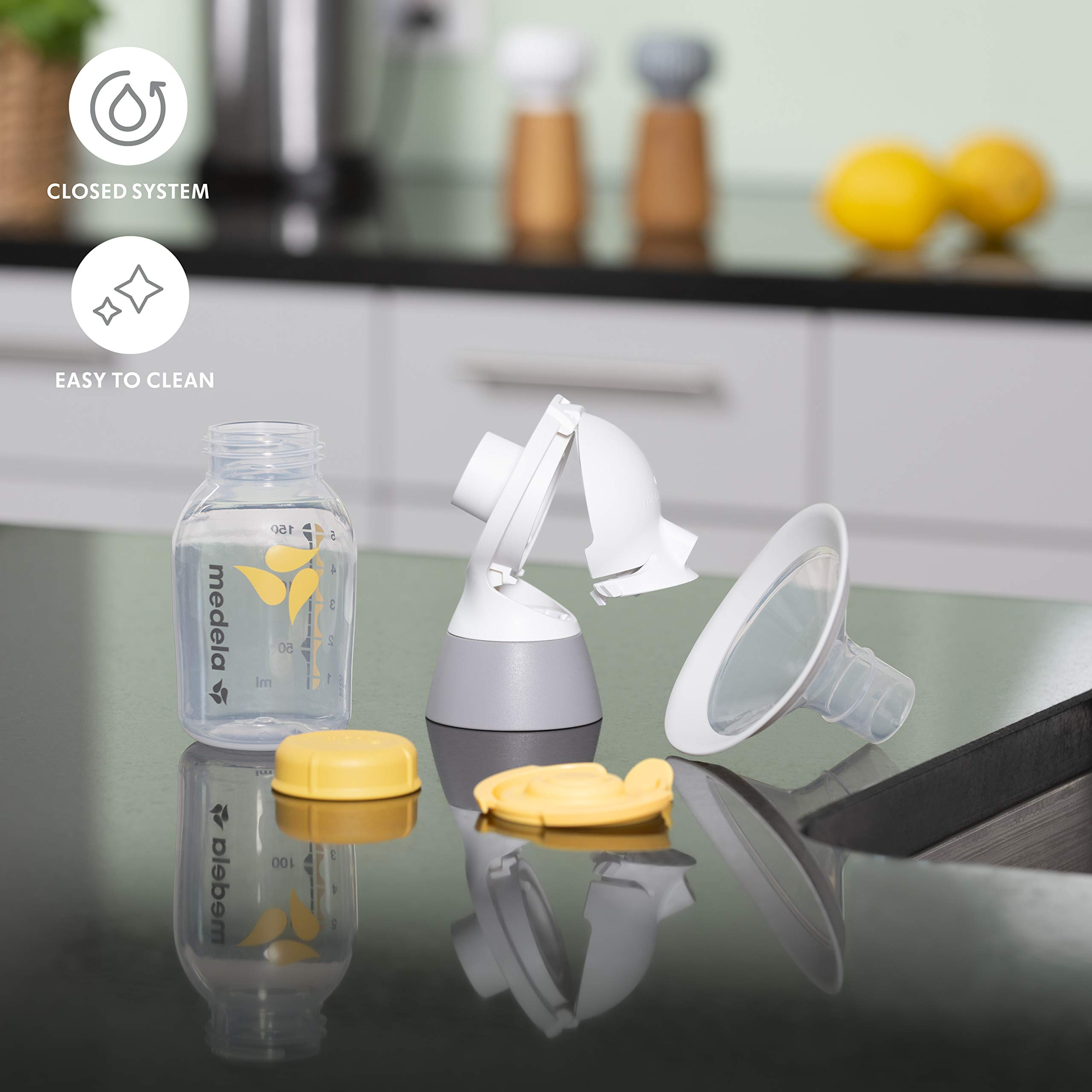 Medela New Pump in Style with MaxFlow, Electric Breast Pump, Closed System, Portable, 2020 Version
