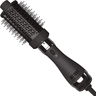 """Hot Tools Professional Black Gold Detachable One-Step Volumizer and Hair Dryer, 2.4"""" Small Barrel"""
