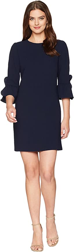 Maggy London - Crepe Shift w/ Flounce Sleeve