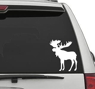 Seek Racing Moose Decal CAR Truck Window Bumper Sticker Nature