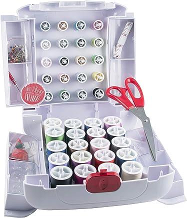 Singer Sew Essentials - Accesorios de costura y sistema de almacenamiento, 166 piezas