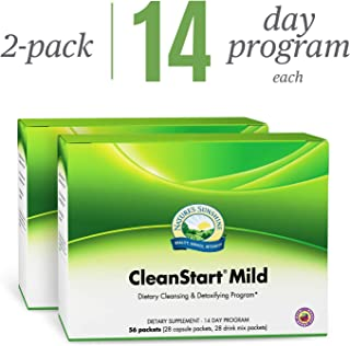 Nature's Sunshine CleanStart Mild, 56 Packets, 2 Pack | Powerful Herbal Detox That Supports Natural, Everyday Cleansing of Waste from The Body