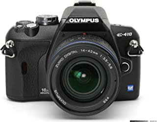 Olympus Evolt E410 10MP Digital SLR Camera with 14-42mm f/3.5-5.6 and 40-150mm f/4.0-5.6 Zuiko Lenses