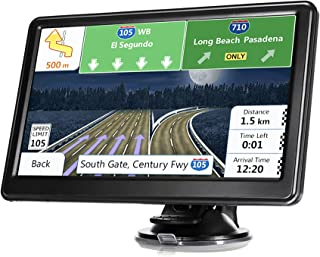 $57 » GPS Navigation for Car Truck, Latest Map Touchscreen 7 Inch 8G 256M Navigation System with Voice Guidance and Speed Came...