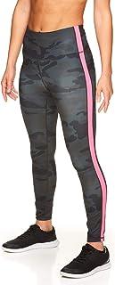 Reebok - Leggings da allenamento da donna, con vita alta, a