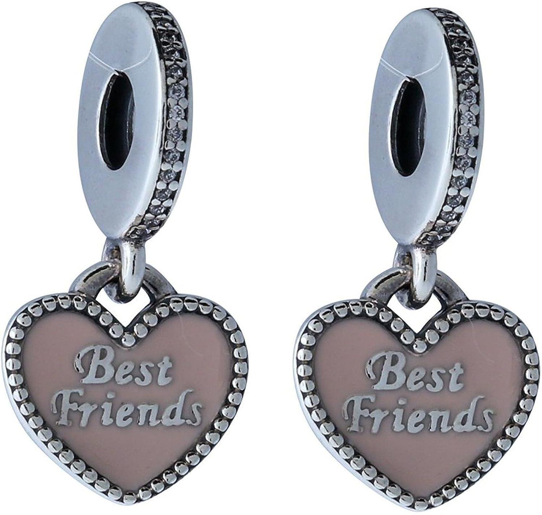 Pandora Women's 791950CZ Best Friends Dangle Charm