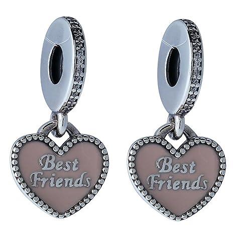 Pandora Women s 791950CZ Best Friends Dangle Charm 11e6425066
