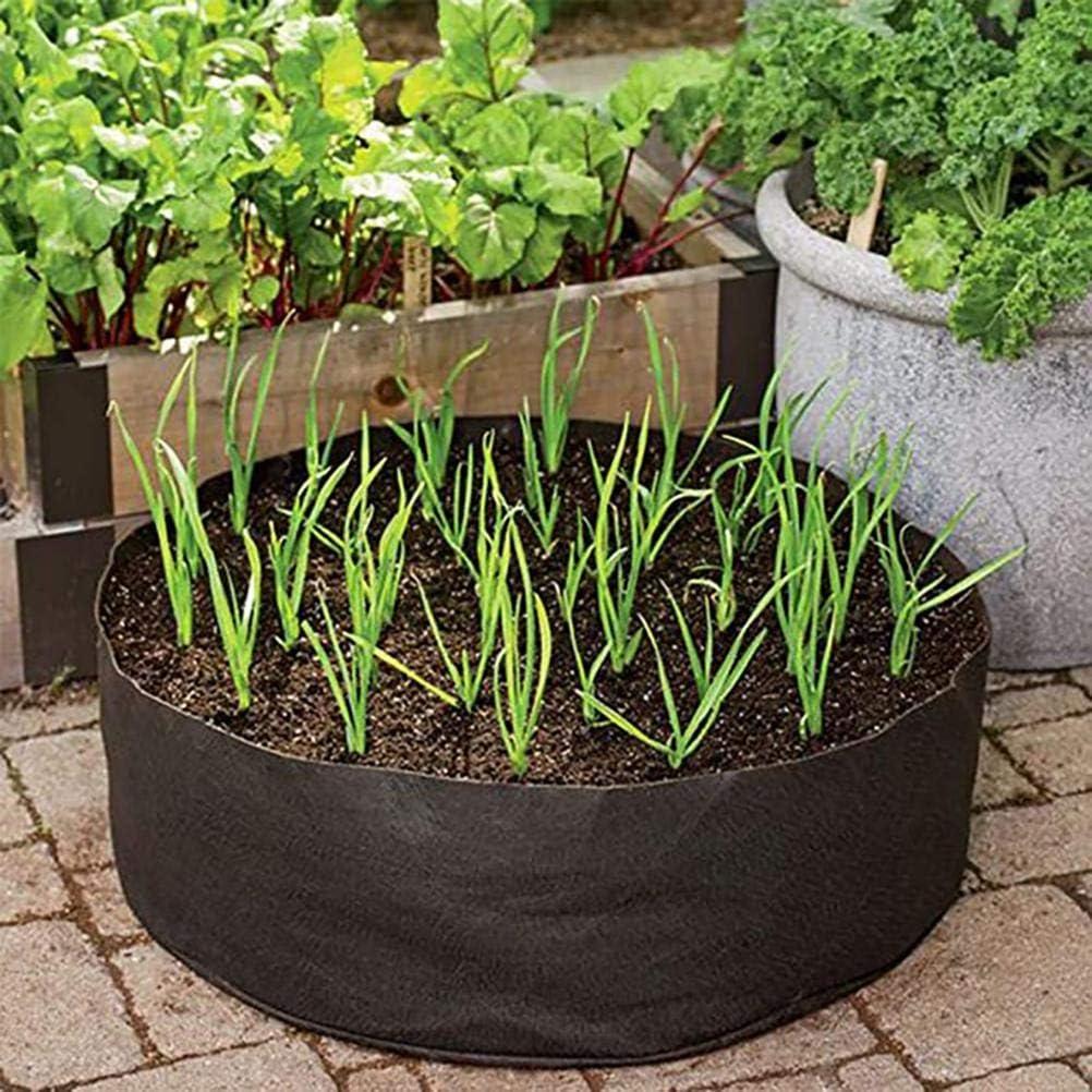 TBEONE Borsa per la Coltivazione delle Piante Vaso per Piante da Giardino in Tessuto in Feltro Contenitore Traspirante Borsa per la Coltivazione di Piante e ortaggi