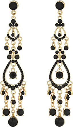 GUESS - Dainty Stone Chandelier Earrings