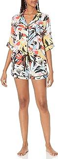 PJ Salvage Women's Loungewear Tropical Staycaytion Pajama Pj Set
