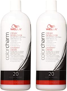 Wella Color Charm Cream Developer 20 Volume 32 oz (2 Pack)