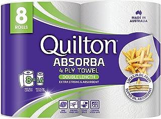 Absorba Double Length Paper Towel (8 Rolls)