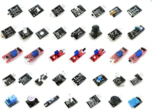 LANDZO 37 in 1 Sensors Modules Kits for Arduino UNO R3 Mega 2560 Mega Nano