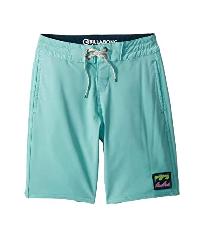 Billabong Kids All Day Light Boardshorts (Toddler/Little Kids) (Aqua) Boy