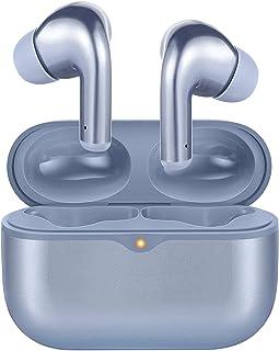bluetoothイヤホン 完全ワイヤレスイヤホン Bluetooth5.0 ブルートゥースイヤホン 低遅延 USB-C&ワイヤレス充電対応 最大45時間音楽再生 Hi-Fiステレオ IPX7防水 MEMSマイク タッチ操作 Alノイズキャンセ...