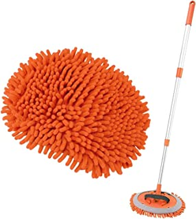 Retractable mop 2 in 1 car Cleaning mop, Microfiber mop, Adjustable Length Glass Cleaning kit, Length from 60 inches to 11...