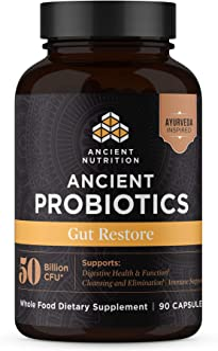 Ancient Nutrition, Ancient Probiotics Gut Restore, 50 Billion CFU, Healthy Digestive Function, Shelf Stable, 90 Capsules…
