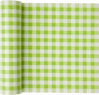 Cotton Printed Luncheon Napkin - 7.9 x 7.9 in - 20 units per roll - Pistachio Vichy