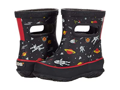 Bogs Kids Skipper Space Man (Toddler/Little Kid) (Black Multi) Boy