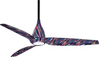 Minka Aire F831L-TD Ceiling Fan in Tie Die Finish