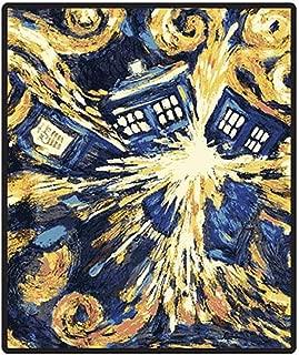 Doctor Who Throw Blanket - Exploding TARDIS Pandorica Fleece - 50