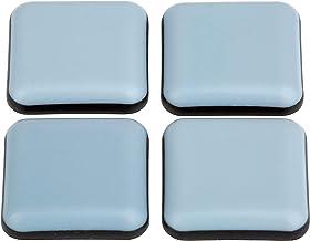 Teflon meubelglijders │ 16 stuks │ vierhoekig │ 25 x 25 mm │ zelfklevend │ vloerbeschermers │ PTFE-glijders │ by FD-Workstuff
