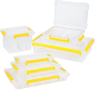 Stalwart 75-31006PC Parts and Crafts Storage Organizers Tool Box (Set of 6)