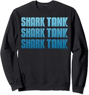Tank Blue Logo Stack Sweatshirt