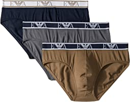 Monogram 3-Pack Brief