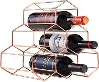 رف لتخزين 6 زجاجات المشروبات من تشولوفز - مكان تخزين للزجاجات قائم بذاته وموفر للمساحة لمختلف أنواع المشروبات