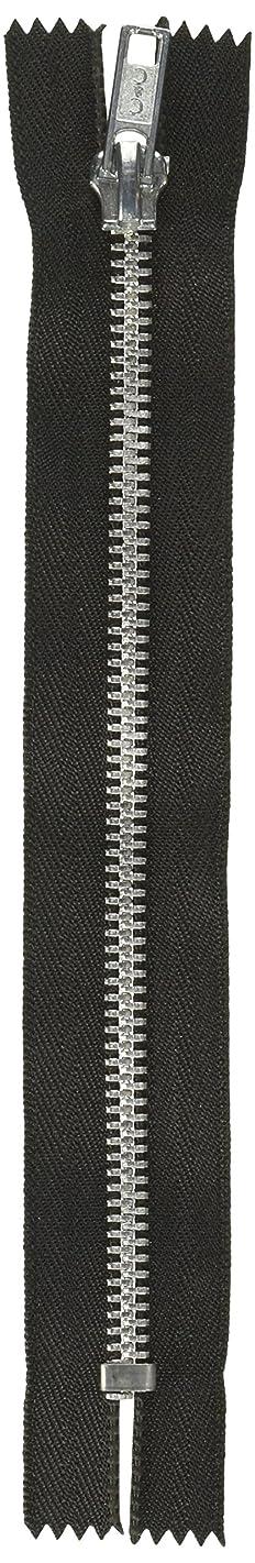 Coats and Clark F24A05-002 Fashion Metal Aluminum Closed Bottom Zipper, 5