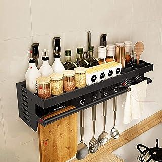 Rack da cucina LCFF Cucina di casa Porta Coltello in Legno Porta Attrezzi da Cucina per La Casa Ripiani Scaffale di Stoccaggio Chopper Fornisce Ripiano Facile da Smontare E Pulito
