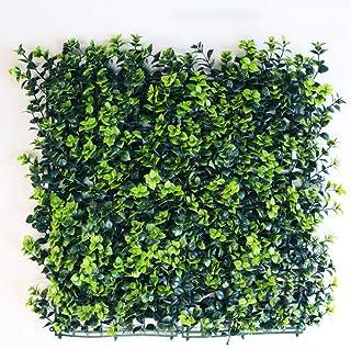 WEWE Privacidad Seto De Césped Artificial,Usar como Muros Falsos De Vegetay Planta Topiary Adecuada Tanto para Exteriores como para Interiores Decoración del Hogar-s 50x50cm(20x20inch)