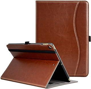 Ztotop iPad 9.7 ケース(第6/5世代)iPad Air2/Air対応 ペンシル収納 オートスリープ機能(ブラウン)