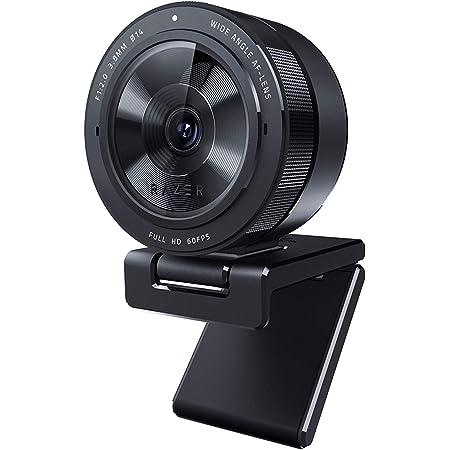 Razer Kiyo Pro Streaming Webcam: Uncompressed 1080p 60FPS - High-Performance Adaptive Light Sensor - HDR-Enabled - Wide-Angle Lens with Adjustable FOV - Lightning-fast USB 3.0