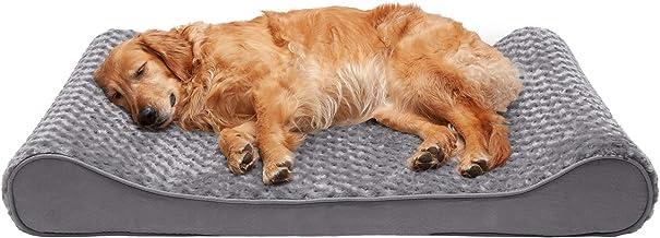 تختخواب سگ Furhaven Pet   تخت خواب مخصوص حیوانات خانگی Ultra Plush Luxe Lounger برای سگ ها و گربه ها - در رنگ ها و سبک های مختلف موجود است